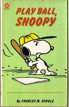 Play Ball, Snoopy - Coronet rpt.1982