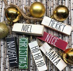 Mini Christmas Ornaments, Christmas Craft Fair, Dollar Tree Christmas, Christmas Words, Dollar Tree Crafts, Christmas Items, Christmas Decorations, Merry Christmas, Christmas Crafts To Sell