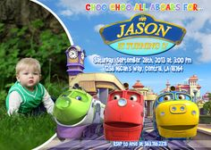 Chuggington Birthday Party Invitation  by FunPartyInvitation, $8.99