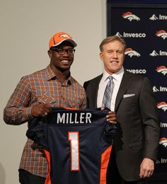 Von Miller! The title is wrong though, Von was the second pick overall in the 1st round.