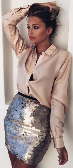#fall #trending #outfits   Silk + Sequins