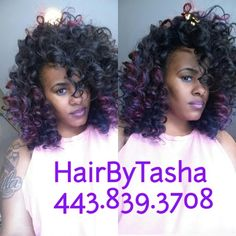Baltimore crochet braids 16inch versatile protective style wand curled wig pmusecretfo Choice Image