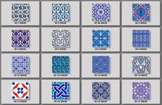 #Turkish motif #CeramicTiles by #AltinÇini. Browse their website and pick the motif of your taste. http://www.altincini.com.tr/ #TurkishCeramics #landofceramics