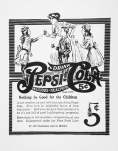 The next time you drink a Pepsi, thank Caleb Bradham of New Bern who invented the tasty drink in his pharmacy in 1893.  North Carolina is home to many inventions such as Vicks VapoRub created by Lunsford Richardson. ^cs