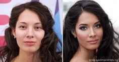 Pra ficar de boca aberta: veja as transformações de maquiagem mais legais da internet - Folha do Estado