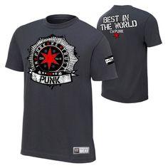 CM Punk In Punk We Trust Men's Authentic T-shirt - WWE