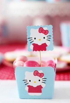 Imprimible gratis de Hello Kitty