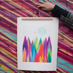 Elisabeth Fredriksson Colorland Art Print | DENY Designs Home Accessories
