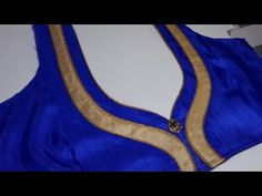 Simple And Beautiful Neck Design For Blouse/Dress Cutting And Stitching - YouTube