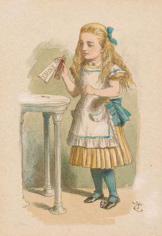 John Tenniel | How Alice Grew Tall | Alice in Wonderland | The Morgan Library & Museum