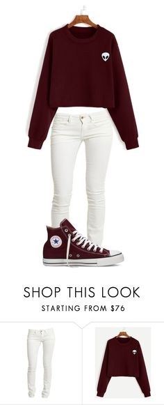 """""""Night"""" by casualbandgirl ❤ liked on Polyvore featuring Replay, Converse, casual, teen and Night"""