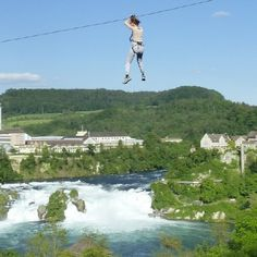 Are you into extreme heights? No problem, the Rhein Adventure Park offers many fast ziplines and climbing adventures - less than an hour away from Park Hyatt Zurich