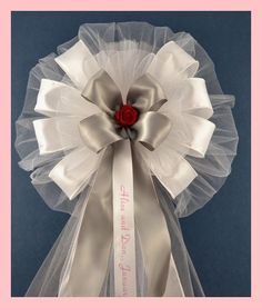 how to make pew bows out of ribbon - Google Search
