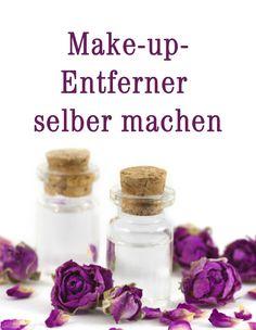Augen abschminken — Wenn Sie ganz genau wissen wollen, welche Inhaltsstoffe Ihre Kosmetikprodukte enthalten, sollten Sie sie am besten selber machen. Auch Augen-Make-up-Entferner lässt sich leicht zu Hause herstellen.