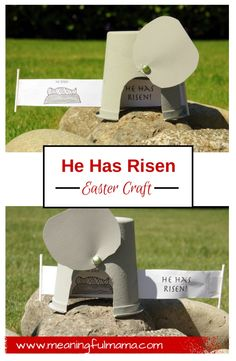 Resurrection Craft Tomb Easter - Christian Easter Activities for Kids