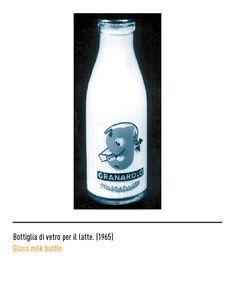 Marchio Granarolo - Bottiglia di vetro per il latte 1965 Frappuccino Bottles, Starbucks Frappuccino, Coffee Bottle, Latte, Drinks, Logo, Drinking, Beverages, Drink