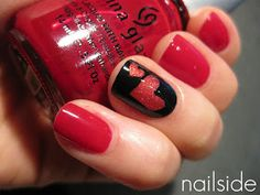 Valentine's day mani ideas