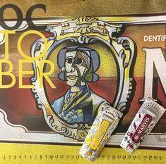 Καλό μήνα!! 💛 #marvis #toothpaste #design #art #october #rosinaperfumery #giannitsopoulou6 #glyfada #athens #greece 🧡 Lunch Box, Stuff To Buy, Bento Box