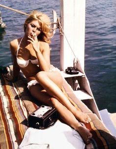 Bridgette Bardot, being perfect. And French.