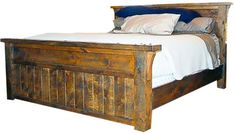 Hawk Creek King Rustic Bed