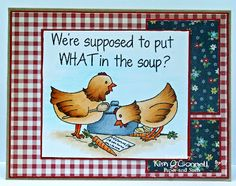 """Paper Perfect Designs: Paper and Such """"Get Well Chicks"""" stamp set  Soooooo cute. Lol"""