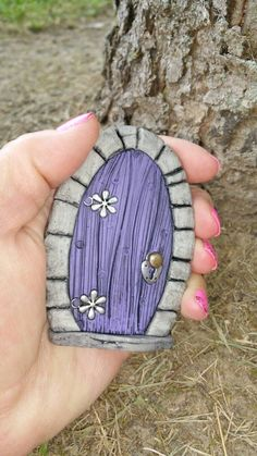 Fairy Door 953 Hobbit Gnome by FairyDoorsByTommie on Etsy
