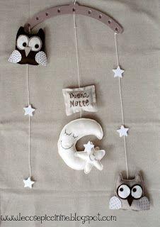 Le cose piccinine: Si ricominica dalla Buonanotte - giostrina per bambini