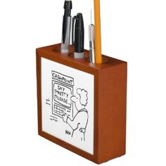 Cartoons and Humorous Gift Items...: Desk Tidies - featuring Cartoons by Nigel Sutherland