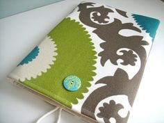 MacBook Sleeve 13 Inch Case In Fahri Aquamarine by KikayCouture, $38.00