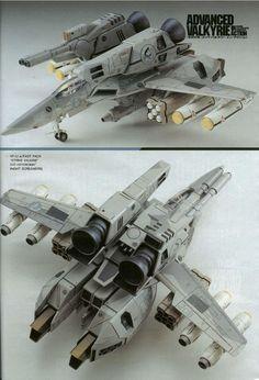 """VF-1J w/FAST Pack """"Strike Valkyrie"""" SVF-113 """"ENIGMA"""" (NIGHT SCREAMERS)"""