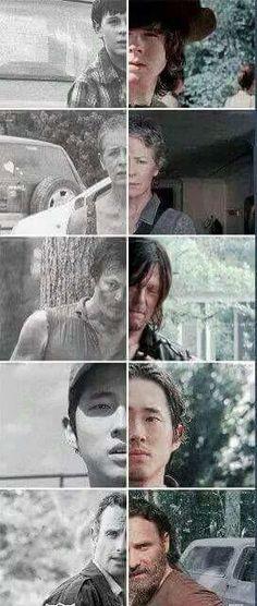The Atlanta Five | The Walking Dead