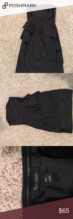 White House Black Market 00 White House Black Market dress .. size 00 .. good used condition .. smoke/pet free home White House Black Market Dresses Strapless