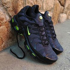 Nike Air Max Plus TN Black Camo Neon Size Man Precio