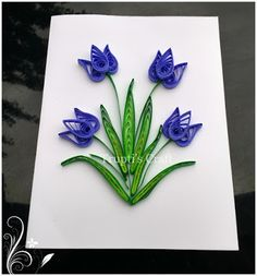 Trupti's Craft: Day 2 of 100 Days of Paper Quilling Challenge Topi… Trupti Crafts: Day 2 of 100 Days Paper … 3d Quilling, Quilling Flowers Tutorial, Paper Quilling Cards, Paper Quilling Flowers, Paper Quilling Patterns, Quilled Paper Art, Flower Tutorial, Quiling Paper, Quilled Creations