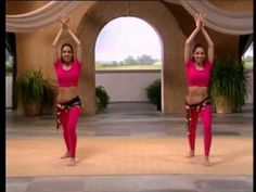 Easy to learn belly dance! My new morning exercise: there is a whole slew of these belly dance vids on YouTube by Zaheer Rafiq.