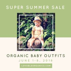 TODAY IS THE DAY!! Organic Baby Clothes, News Blog, Summer Sale, Day