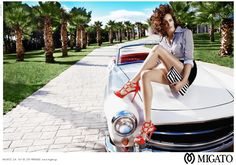 Migato Shoes Campaign S/S 2014 by Nikol Bartzoka | Designer Collection from Fashion and Style