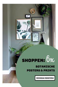 Ook met iets nieuws aan de muur kan je een ander sfeertje creëren! Voor deze blog ging ik op zoek naar de mooiste botanische posters & prints. Kijk je mee? #posters #botanischeposters #botanischeprints #illustraties #fotowand #fotomuur #wallart #planten #plants #kamerplanten #plantstyling Gallery Wall, Frame, Plants, Home Decor, Picture Frame, Decoration Home, Room Decor, Frames, Plant
