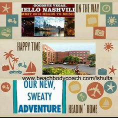 Excited to be going to Coach Summit 2015 in Nashville! There's still time if you want to join me. Conact me ASAP so that you can be a part of the business building workshops, workouts with the celebrity trainers, rank advancements, special announcements and so much more! I love my Team Beachbody team!   www.beachbodycoach.com/lshulta