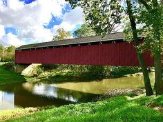 Cumberland Covered Bridge Featured on Fine Art America
