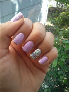 some simple spring nails china glaze tarty for the party