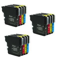 3BK 3C 3Y 3M LC985 LC975 LC39 For Brother Compatible Ink Cartridge Model DCP-J125 DCP-J315W DCP-J515W Printer Ink