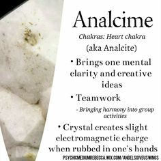 Analcime crystal meaning