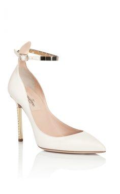 Bridal Shoe Trend: Heavy Metal. (PS Follow The LANE on instagram: the_lane)
