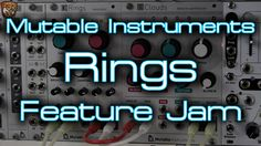 """So while you wait patiently for the full overview video I'll have coming in a few days here's a bit of a """"feature jam"""" on Rings. Cloud Texture, Jam On, Music Production, Instruments, Hardware, Clouds, Rings, Youtube, Ring"""