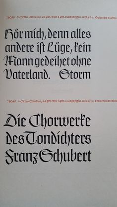 """""""Claudius"""" Von Klingspor, Schriftgießerei in Offenbach a. Main. Rudolf Koch1937. Book, 28 pages + cover. Black ink on beige board paper cover."""