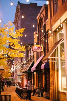 Osteria Marco & Larimer Square in Downtown Denver, Colorado // WeAreAdventure.us