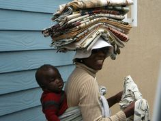 Baby on back, laundry on head. South African Design, African Life, Victoria Island, Out Of Africa, Travel Light, Sweet Memories, Adventure Is Out There, Lonely Planet, Baby Wearing