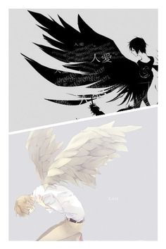 Shizuo & Izaya- their biggest difference: one has an issue hurting others, the other can't control hurting himself.