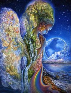 Mother nature ~ Josephine Wall Hard as hell to put this puzzle together!